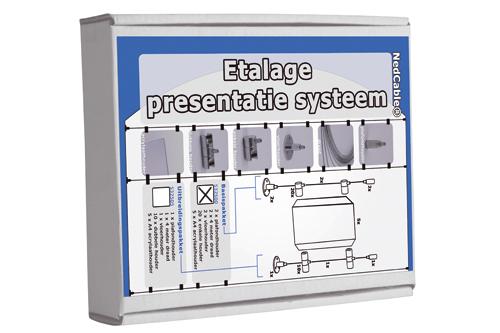 Nedcable - Etalage A4 (basispakket)