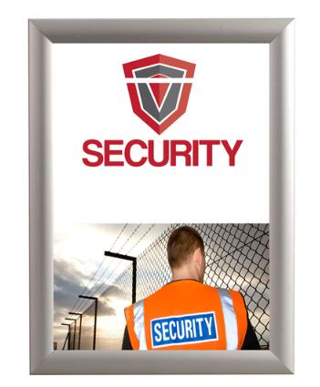 Kliklijst Security A4 inclusief sleutel