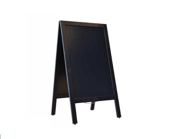Krijtstoepbord Zwart 75 x 135 cm