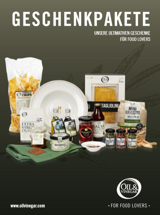 Kundengeschenke Hamburger Meile Shops Oil Vinegar