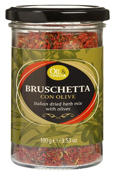 Bruschetta con Olive